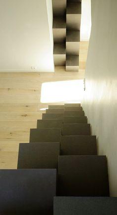 Loft minimalista en Bélgica, proyectado por adn