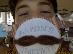 Great mustache party!
