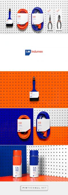 Indumex — The Dieline - Branding & Packaging - created via http://pinthemall.net