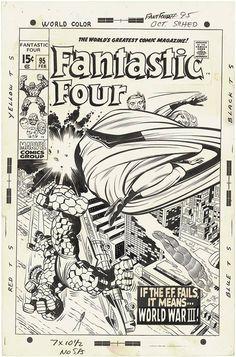 Fantastic Four 95. cover