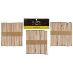 150-Piece Natural Craft Stick Pack