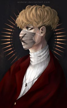 """arudelu: """"sSANGWOOOOOOO/// a serial killer cant be this hot aaa, i just read Killing Stalking owo Photoshop and Paint Tool Sai follow my instagram: https://www.instagram.com/ardelel/ """""""