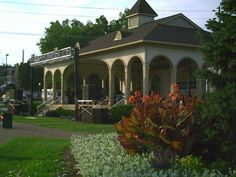Frontier Park and Main Street in St. Charles, MO