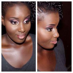 Prom makeup for #darkskin #beautiful  For bookings email: InnerBeautyOutEL@gmail.com Instagram: InnerBeautyOutEL