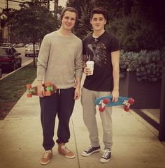 HELLLLLLOOOO! Marcus Butler and Finn Harries :) oh yes I just died!!!!