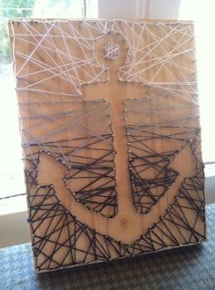 Could be fun as a large art install with twine or a thin rope. Anchor, oar, interior bar sign?