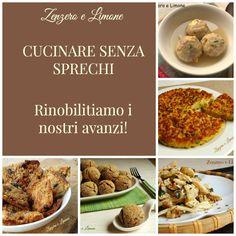 CUCINARE SENZA SPRECHI | raccolta di ricette