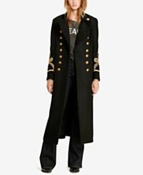 Denim & Supply Ralph Lauren Long Officer Coat