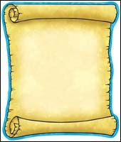 Treasure Scroll Note Pad