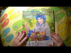 Winter 'Wonderland coloring book Flip Through and Review