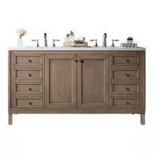 Double Vanities by James Martin Double Sink Bathroom, Double Sink Vanity, Bathroom Sink Vanity, Vanity Cabinet, Bath Vanities, Master Bathroom, Double Sinks, Ikea Bathroom, Bathroom Furniture