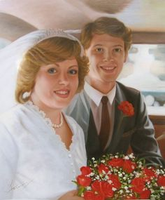 WeddingPortraits | WeddingPaintings | Bridal Portraits.... #wedding…
