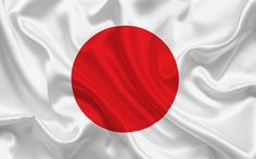 Download wallpapers Japanese flag, Japan, Asia, Flag of Japan