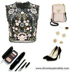 Outfit  #accessori   #pumps  #borsa Segui 💖💖💖 http://www.diventasplendida.com/party/index.php  💖💖💖