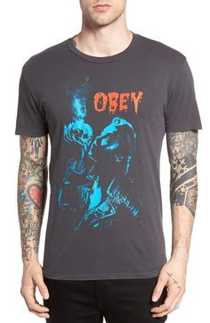 Obey Gimme Danger Graphic T-Shirt available at #Nordstrom