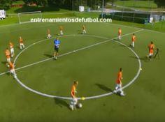 Sesión completa de entrenamiento de fútbol para niños