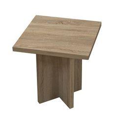 Table d'appoint Konztanz II Imitation chêne brut de sciage 35€