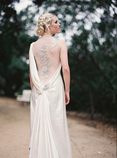 Wed Amidst The Forest.  Elegant vintage woodland styled wedding shoot. Lucy Munoz Photography. Dress Designer: Dar Sara & Sarah Janks & Ines Di Santo