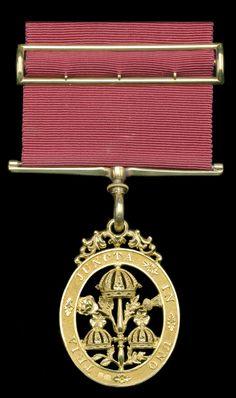 Order of the Bath, C.B. (Civil) Companion's breast badge, hallmarked London 1847, maker's mark of Robert Garrard.