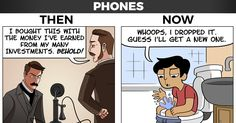 Technology: Then vs Now