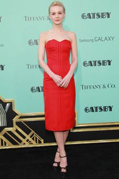 WHO: Carey Mulligan   WORE: Lanvin   WHERE: The Great Gatsby New York Première   WHEN: May 1, 2013   Photo: Getty Images