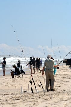 Fishing Category~Surf Fishing- love, love love to surf fish. Of all sports I can do this everyday...