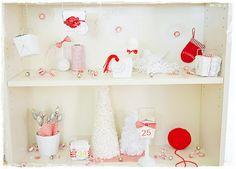 Bookcase Diorama Advent Calendar