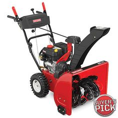 "Craftsman 24"" 208cc Dual-Stage Snow Blower"