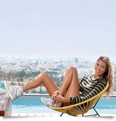 Η Πάολα Παπακώστα δηλώνει Cypriot and Proud Outdoor Furniture, Outdoor Decor, Hammock, Beach Mat, Outdoor Blanket, Celebrities, Home Decor, Celebs, Decoration Home