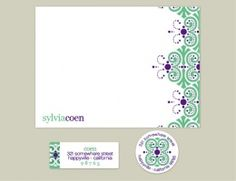 candy lace notecards from Erin Condren