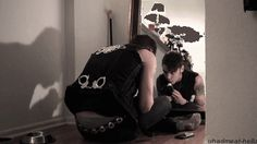 Andy and his cat are the cutest like I ship andy and his cats more than andy and juliet