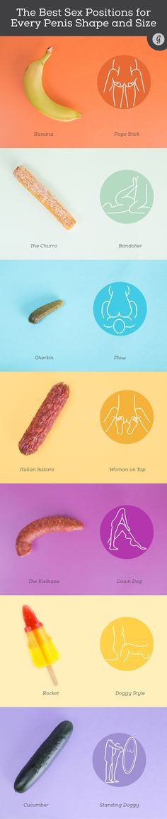 The Ultimate Visual Guide to Great Sex for Every Penis Shape and Size #sex #relationships