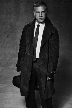 Francesco Carrozzini | Christopher Waltz, L'Uomo Vogue | Ayako Yoshida