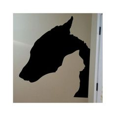 Cat and Dog Silhouette Vinyl Wall Decal Sticker Made from 10 year high quality vinyl which leaves no residue upon removal. Measures 22 x 25 inches. Some decals may come in multiple pieces due to the s Silhouette Vinyl, Animal Silhouette, Animal Line Drawings, Cat Tattoo, Wall Decal Sticker, Pet Shop, Art Pictures, Painting Inspiration, Metal Art