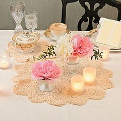 Crocheted Doilies - Oriental Trading