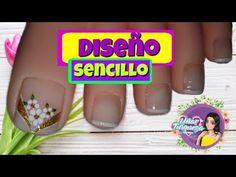Beautiful Toes, Pedicure, Nail Designs, Nail Polish, Nails, Designed Nails, Vestidos, Toenails Painted, Pretty Toe Nails