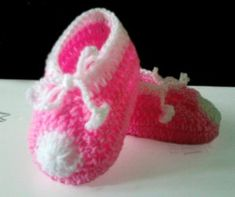 Precious Crocheted Baby Booties.  Just when you think you've seen it all another darling design comes along!