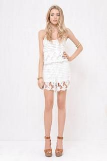 Lover lee Romper White