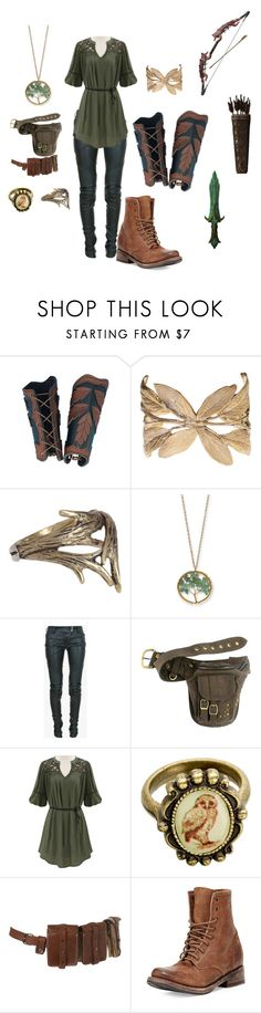 """She's my Best Friend"" by squirrely-kitten ❤ liked on Polyvore featuring Alkemie, A.L.C., Kim Rogers, Balmain and Freebird"