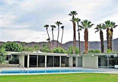 Stunning, spectacular and spacious are just a few of the words that describe this modern 4 bedroom, 5 bathroom vacation home located in Rancho Mirage, Ca.     This mid-century modern home was designed b...