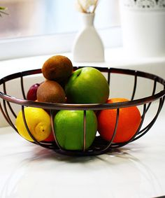 Another great find on #zulily! Vanderbilt Home Oil-Rubbed Bronze Fruit Basket by Vanderbilt Home #zulilyfinds