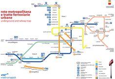 Official Map: Metropolitana di Napoli