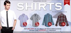 UAE Online Shopping NEWSFLASH!  Shirts - From AED 75  http://giordano-me.com/User/ProductList.aspx?gust=0=91  Get 25% OFF on all regular price merchandise  Enter code GIOSHOP at checkout  Free shipping on all orders above AED 150 within UAE.  Shop Now! :)