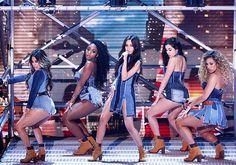 Fifth Harmony performing on @BGT