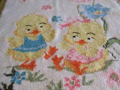 copertina lana culla maglia ricamata, by maglieria magica, 110,00 € su misshobby.com