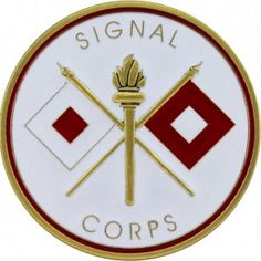 U.S. Army Signal Corps Coin