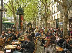 Le café de la mairie place Saint Sulpice