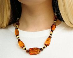 Baltic Amber Jewelry: Natural Amber Necklaces by AmberByTorvela Amber Necklace, Beaded Necklace, Necklaces, Baltic Amber Jewelry, Natural, Etsy, Beaded Collar, Pearl Necklace, Beaded Necklaces