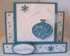 Kathie's Cards: Christmas Center Step Gift Card Holder