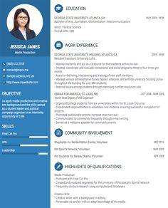 A free CV/Resume builder help you to create a professional cv online without Photoshop or AI skills. A lot of built-in professional cv/resume template with cv examples. Online Cv Template, Best Cv Template, Cv Design Template, Cv Resume Template, Sample Resume, Resume Cv, Cv Online, Online Resume, Cv Skills
